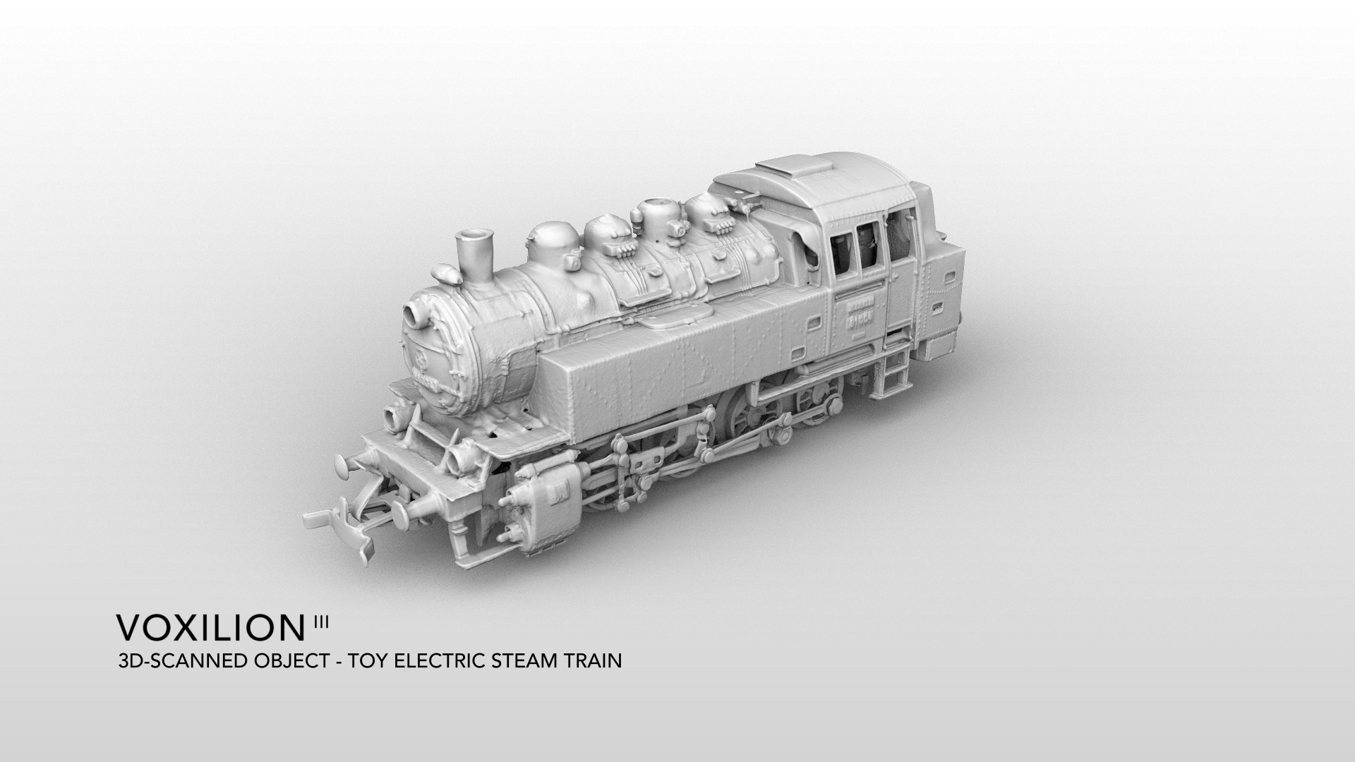 Toy Steam Locomotive