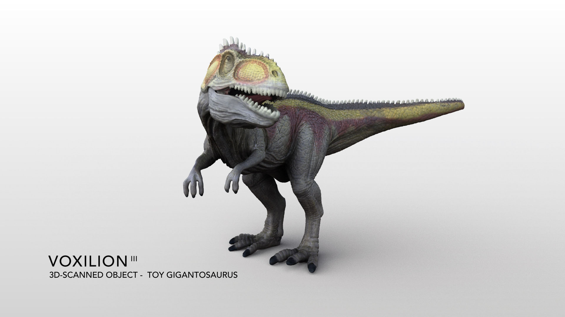 Toy Gigantosaurus Textured